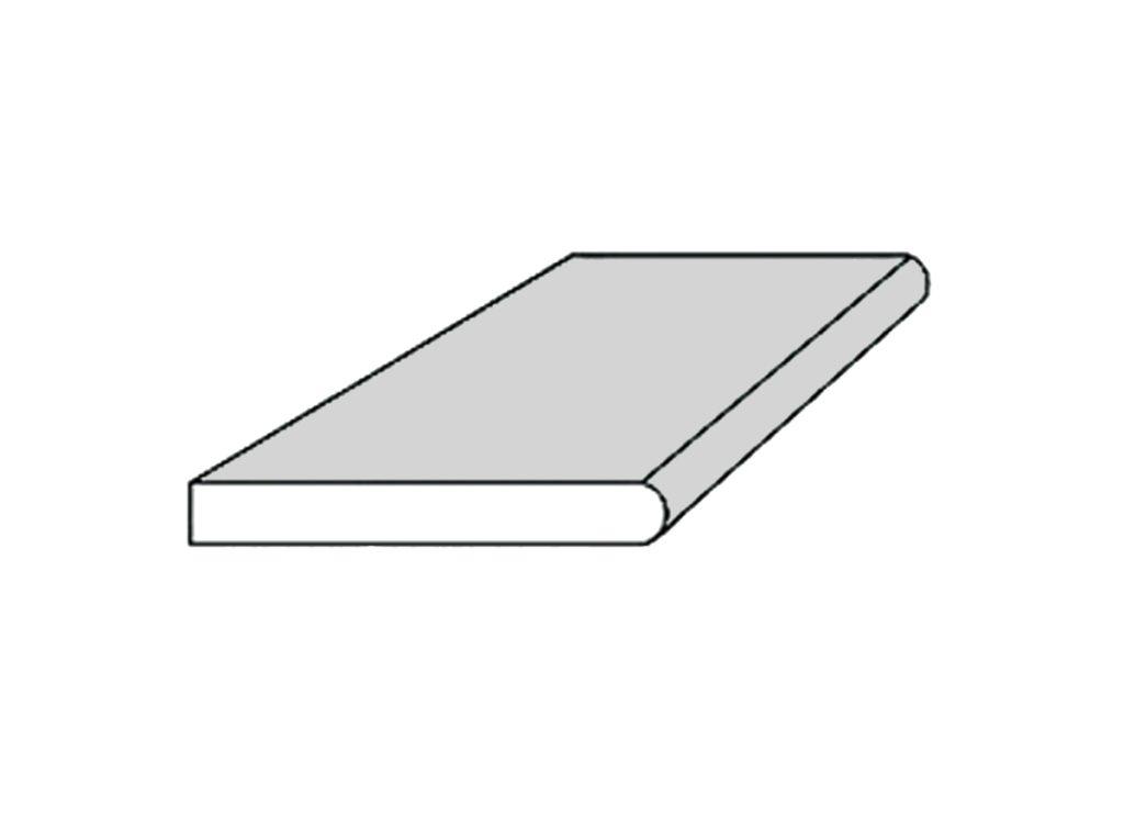 2 cm shims - BULLNOSE TILE 180°